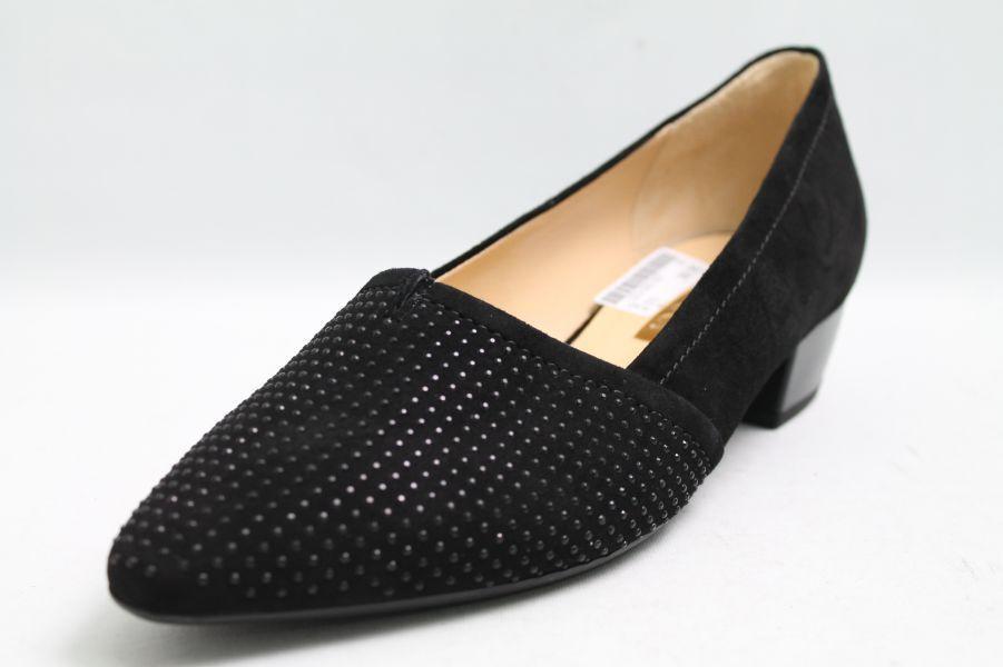 Gabor Gabor Gabor Pumps pelle nera effetto glitter | comfort  | Gentiluomo/Signora Scarpa  53ffff