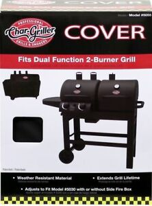 Char Griller Dual 2 Burner Gas And Charcoal Grill Cover