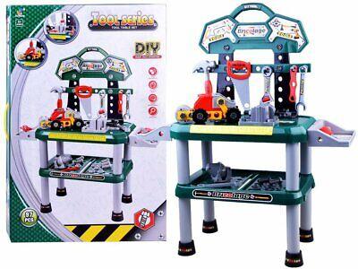 BANCO da lavoro GRANDE per bambini banchetto con attrezzi GIOCATTOLO h.85cm 543 | eBay