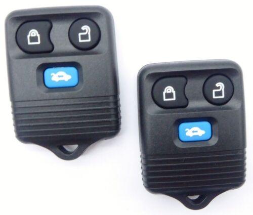 2x Funk Fernbedienung Schlüssel 433 MHZ für Ford Transit Connect Maverick