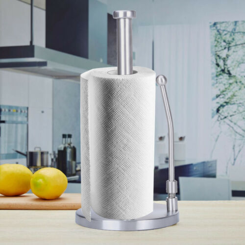 Brushed Stainless Steel 1pc Good Grips Simply Tear Standing Paper Towel Holder