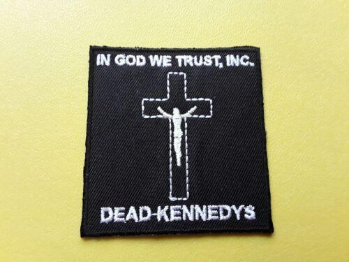 PUNK METAL MUSIC SEW ON /& IRON ON PATCH:- DEAD KENNEDY/'S ROCK POP