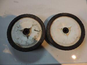 300 mm Tondeuse Bernard Loisirs 50B53HWDE Roue arrière non motrice diam