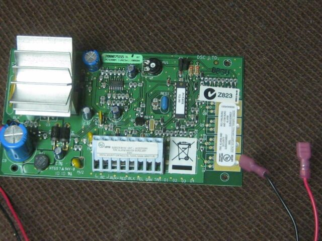DSC Security Alarm System PC5200A Powerseries Power Supply