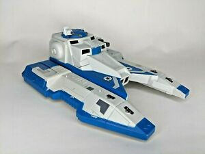 Star-Wars-Clone-Wars-Blue-Republic-Fighter-Tank-Incomplete-for-Parts-Hasbro-2009