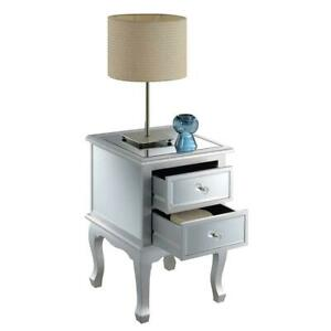 Gold Coast Victoria Mirrored End Table