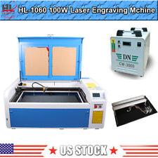Hl 1060 Reci 100w Co2 Laser Engraving Cutting Machine Cutter Ruida 6445 System