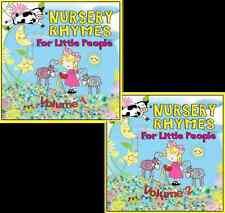 100 Childrens Singalong Songs & Nursery Rhymes Audio CD FREE P&P 2CD Set