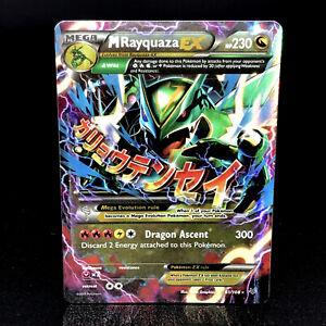 M-Rayquaza-EX-XY-Roaring-Skies-61-108-Half-Art-Rare-Holo-Pokemon-Card