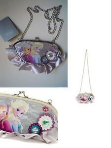 il Regno di Giaccio borsetta Frozen Elsa e Anna borsa a traccolla con Glitter