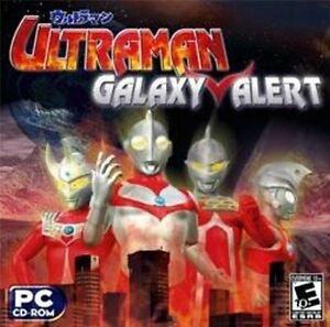 ULTRAMAN-GALAXY-ALERT-Brand-New-Sealed-PC-Game-Win-XP-Vista-7-8