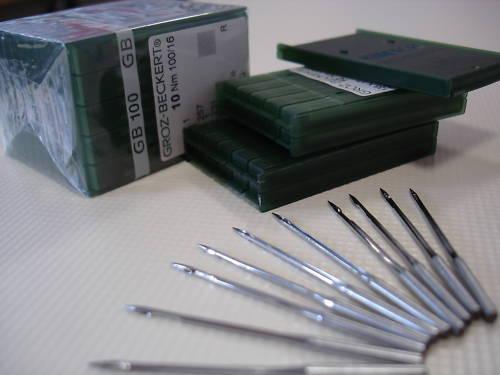 10 Nähnadeln 134-35 (DPx35),  Stärke: Nm 110 GROZ-BECKERT Nadeln