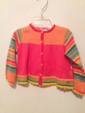 NEW NWT INFANT GIRLS CATIMINI DESIGNER SWEATER SIZE 9 MONTHS ~ $83 Retail