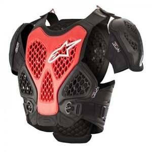 Alpinestars-Adultes-Bionique-Motocross-MX-Enduro-Poitrine-Protection-Corps-Red