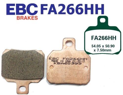EBC Bremsbeläge Bremsklötze Brakepads FA266HH HINTEN VOXAN GTV 1200 08