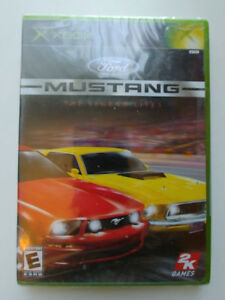 FORD-MUSTANG-THE-LEGEND-LIVES-XBOX-BRAND-NEW