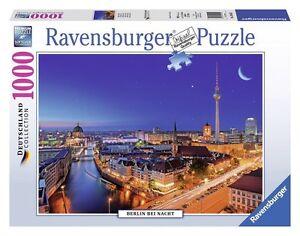 ravensburger puzzle deutschland collection 1000 teile berlin bei nacht ovp ebay. Black Bedroom Furniture Sets. Home Design Ideas