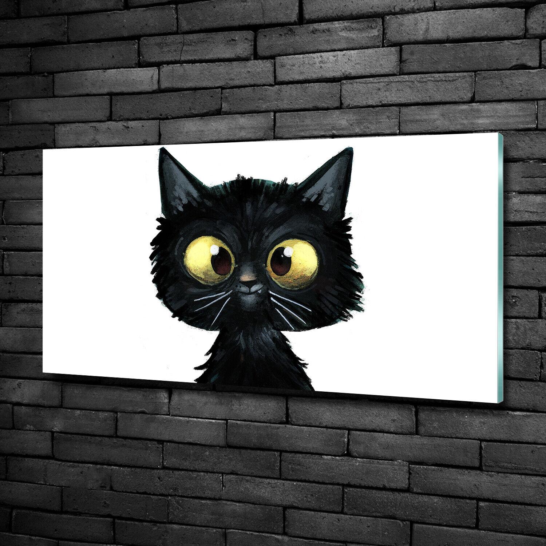 Acrylglas-Bild Wandbilder Druck 100x50 Deko Tiere Katze