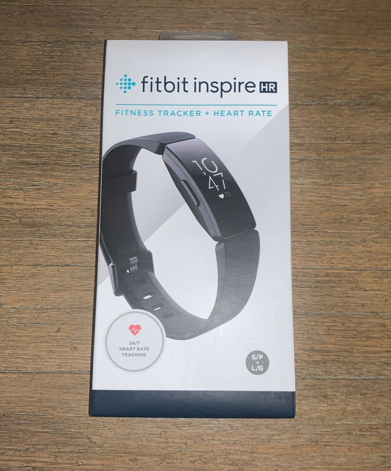 Fitbit Inspire HR Fitness Tracker + Heart Rate Black Factory Sealed NEW black factory fitbit fitness heart inspire new rate sealed tracker