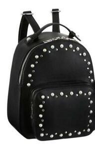 NEU-Laura-Scott-City-Rucksack-Umhaengetasche-B-H-T-27-29-11-schwarz-Handtasche