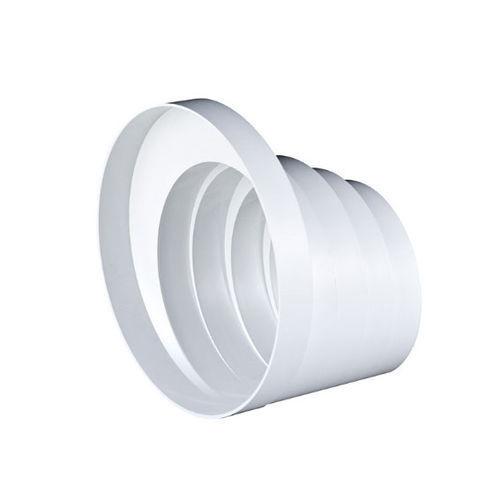 Condotte TUBO riduttore in PVC 100mm 110mm 120mm 125mm 150mm ESTRATTORE VENTOLA Multistage