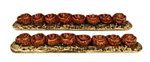 HARBURN HAMLET CG281 1:76 00 SCALE Red Cabbage in Vegetable Rows x 2 HOBBIES