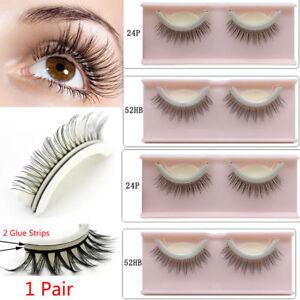 cdb839e81ec Image is loading 3D-Reusable-No-Glue-False-Eyelashes-Self-Adhesive-