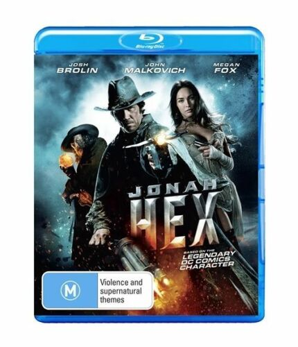 1 of 1 - Jonah Hex  (Blu-ray, 2010, 1 Disc)- Brand  New Original Blu Ray, Cover And Case