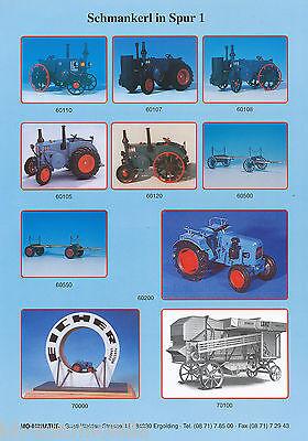 Mo-miniatur Modellautos Spur Prospekt 1/97 1997 Brochure Model Cars Prospectus GroßEr Ausverkauf