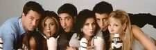 12x36 Friends TV Show Sharing Milkshake Poster