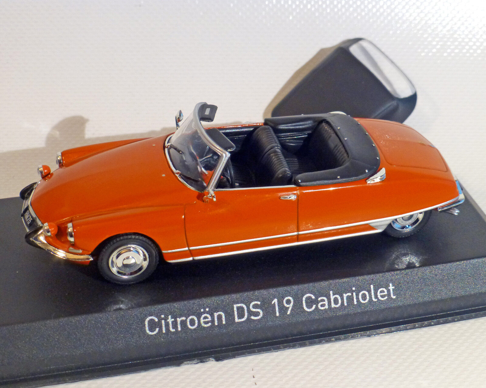 Citroen Ds 19 Cabriolet, Red, Norev 1 43