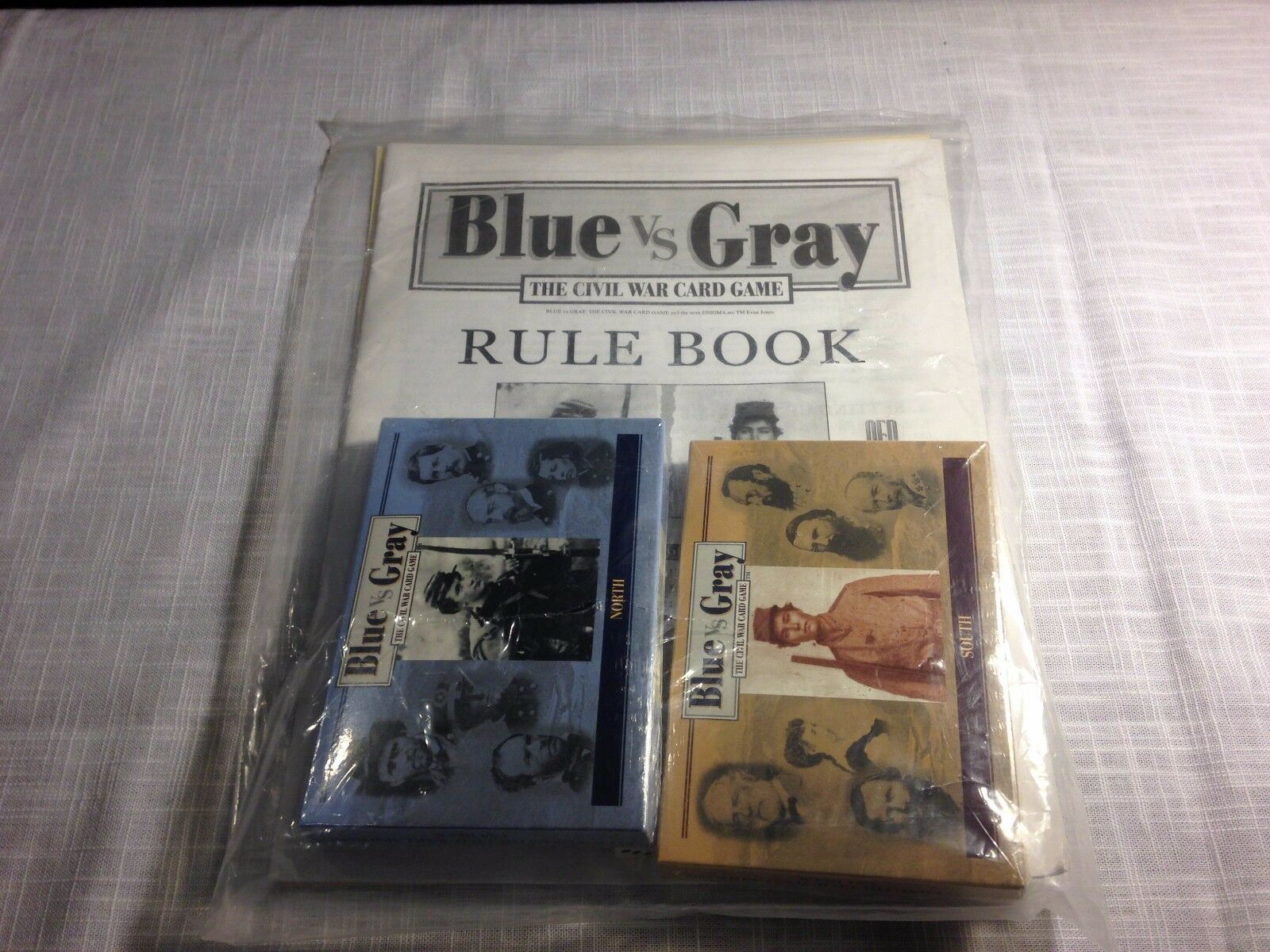 blu vs grigio  The Civil War Card Game, NEW