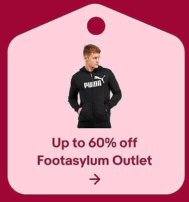 Up to 60% off Footasylum Outlet