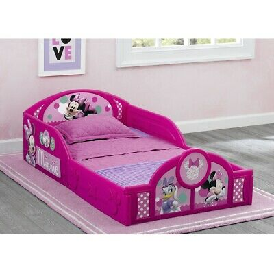 Girls Toddler Bed Minnie Mouse Plastic Frame Kids Girl ...