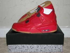 5173ab5b35780f Nike Air Jordan 4 IV Retro Singles Day Fire Red Men s 9.5   Women s ...