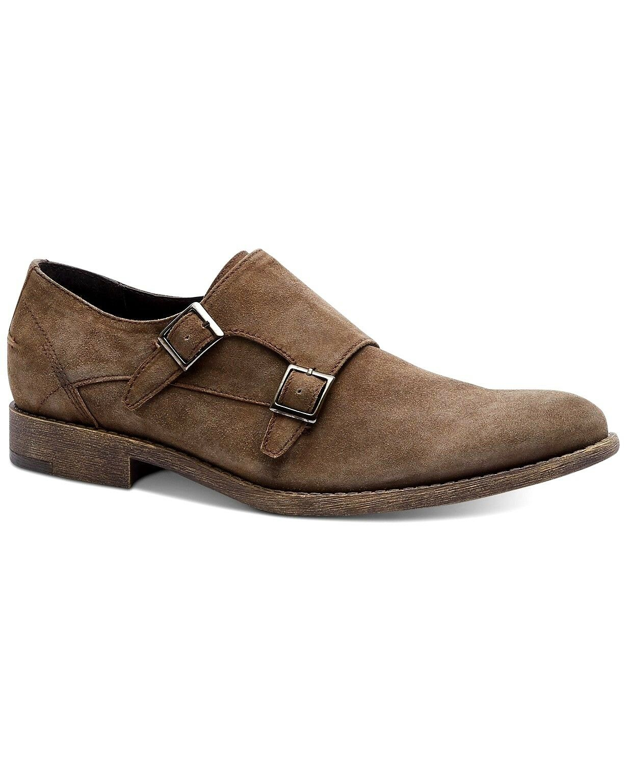 Kenneth Cole REACTION Homme Design 20644 Moine-Sangle Mocassin, Taupe, 7 m