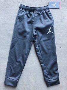 d96cb42dcff1 Air Jordan little boys Therma-Fit Fleece Pants cool gray 854885 size ...