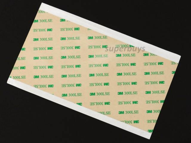 3M Double Sided Linered super strong Adhesive on Transfer Strips /& Sheets