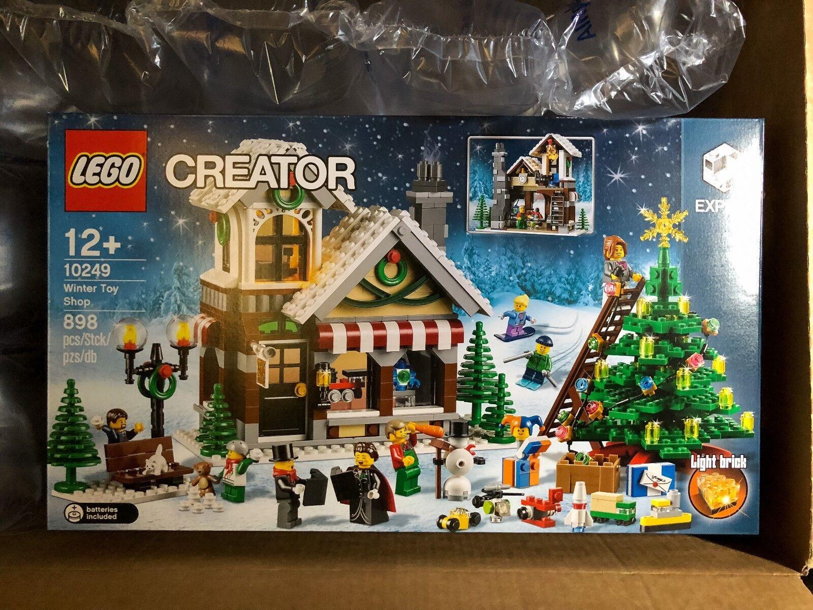 LEGO Creator 10249 Weihnachtlicher Spielzeugladen NEU OVP Winter Toy Shop NEW