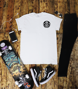 Starbucks-Skeleton-T-Shirt-Tumblr-Hipster-Unisex-Gift-Festival-Coffee-Metal