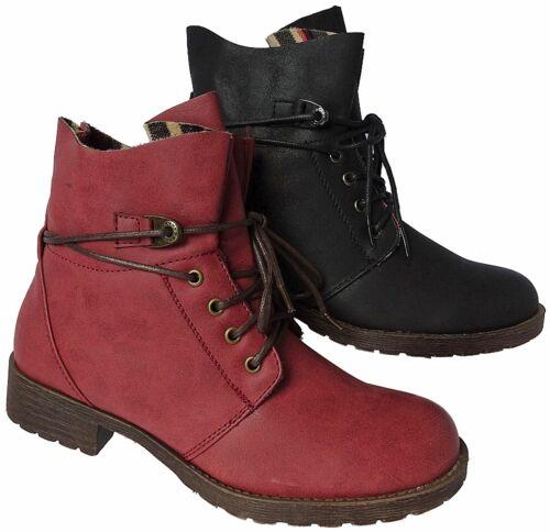 Damen Stiefeletten Boots Stiefel Booty Winterschuhe Schuhe Nr.3108