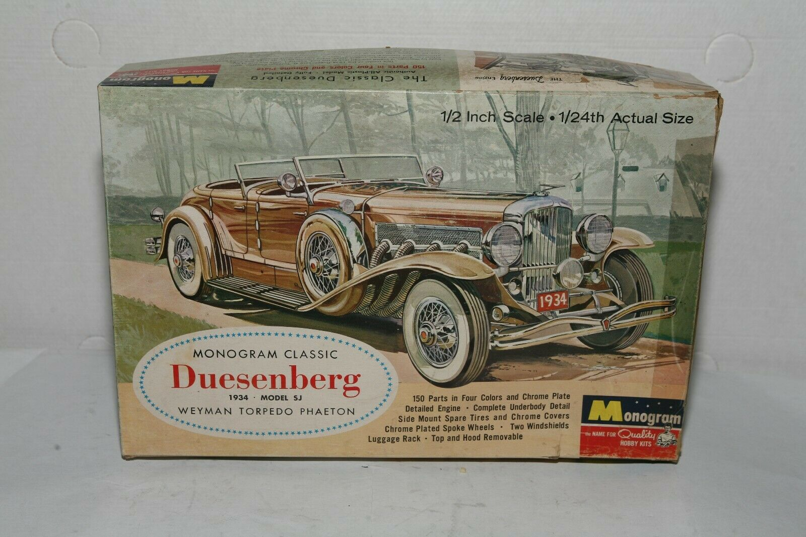 Monogram duesenburg 1 24 KIT