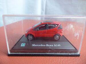 Hongwell-Cararama-MERCEDES-BENZ-A-140-00-Gauge-per-Diorama-display-auto-giocattolo-1-72