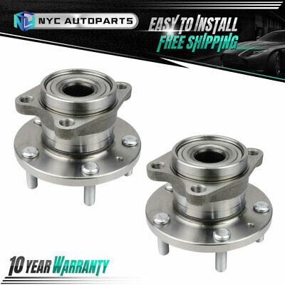 Model Specifics: AWD Rear Wheel Bearing and Hub Assembly fits 2010 Mazda CX-9
