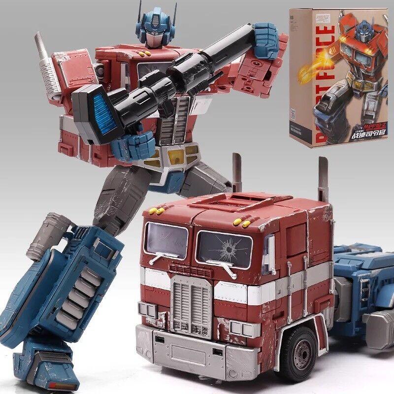 Optimus Prime battaglia Damaged Discontinued cifra Mpp10z Transformers Weijiang