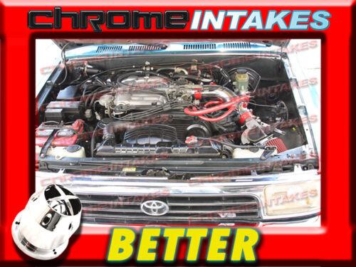 CF RED NEW COLD AIR INTAKE KIT FOR 88-95 TOYOTA PICKUP//4RUNNER 3.0 3.0L V6