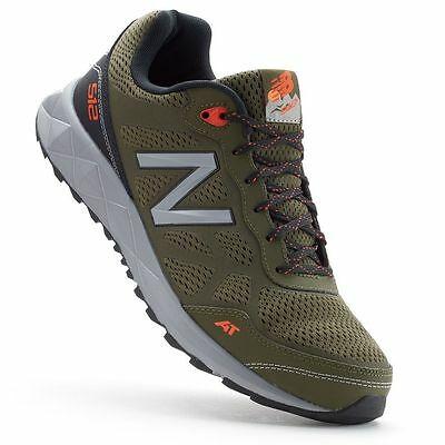 NEW MEN'S NEW BALANCE MTE 512 G1 MEN'S TRAIL RUNNING SHOES!!! IN OLIVE GREEN!!!