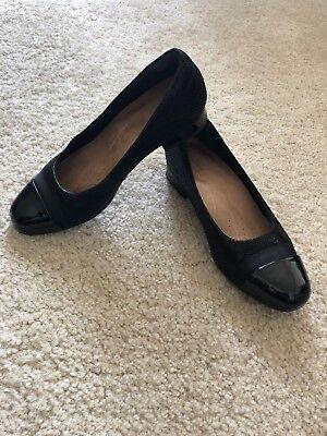 Clarks Neenah Garden Ballet Flats Heels