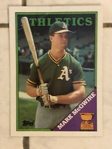 Details About Mark Mcgwire 1987 Donruss Rated Rookie Card Plus More Big Lot Of Classic Cards