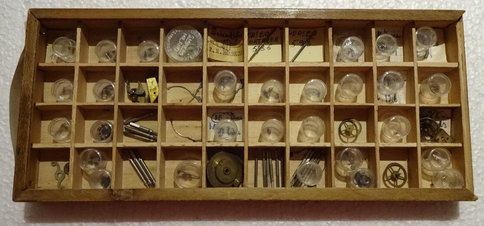 Repuestos Relojes Antiguos Set-Roskopf Repuestos